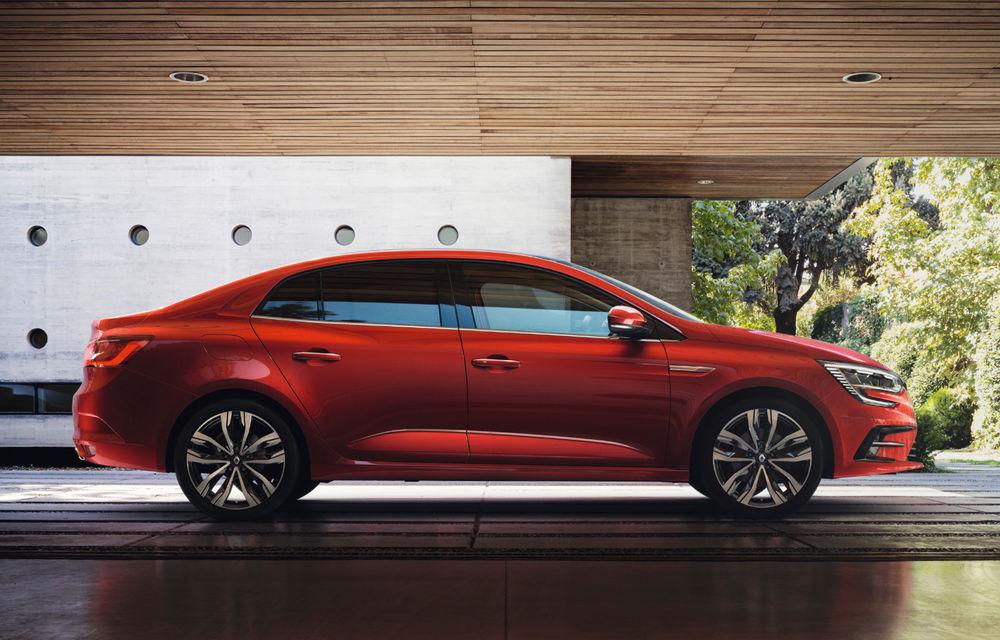 Imagini și informații tehnice cu Renault Megane Sedan facelift: interior îmbunătățit, motorizări diesel și pe benzină și sisteme de asistență - Poza 2