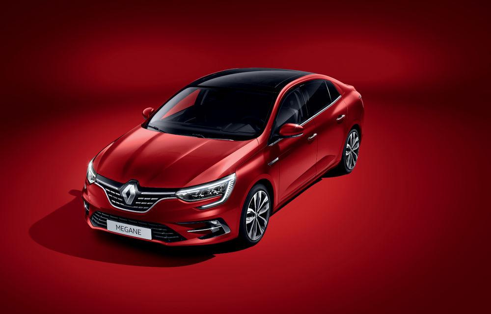 Imagini și informații tehnice cu Renault Megane Sedan facelift: interior îmbunătățit, motorizări diesel și pe benzină și sisteme de asistență - Poza 15