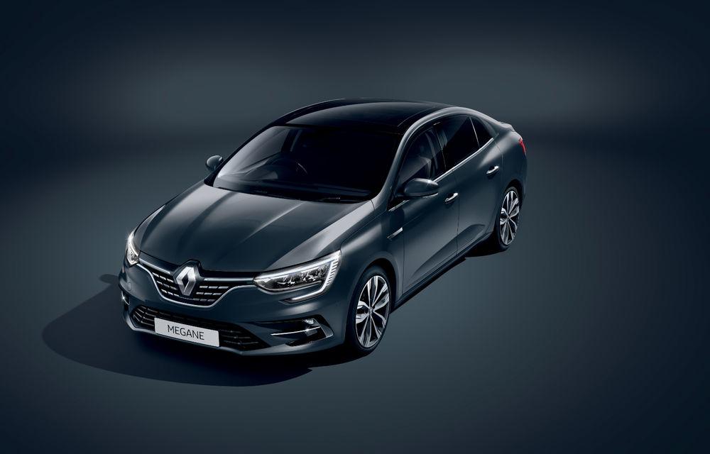 Imagini și informații tehnice cu Renault Megane Sedan facelift: interior îmbunătățit, motorizări diesel și pe benzină și sisteme de asistență - Poza 24