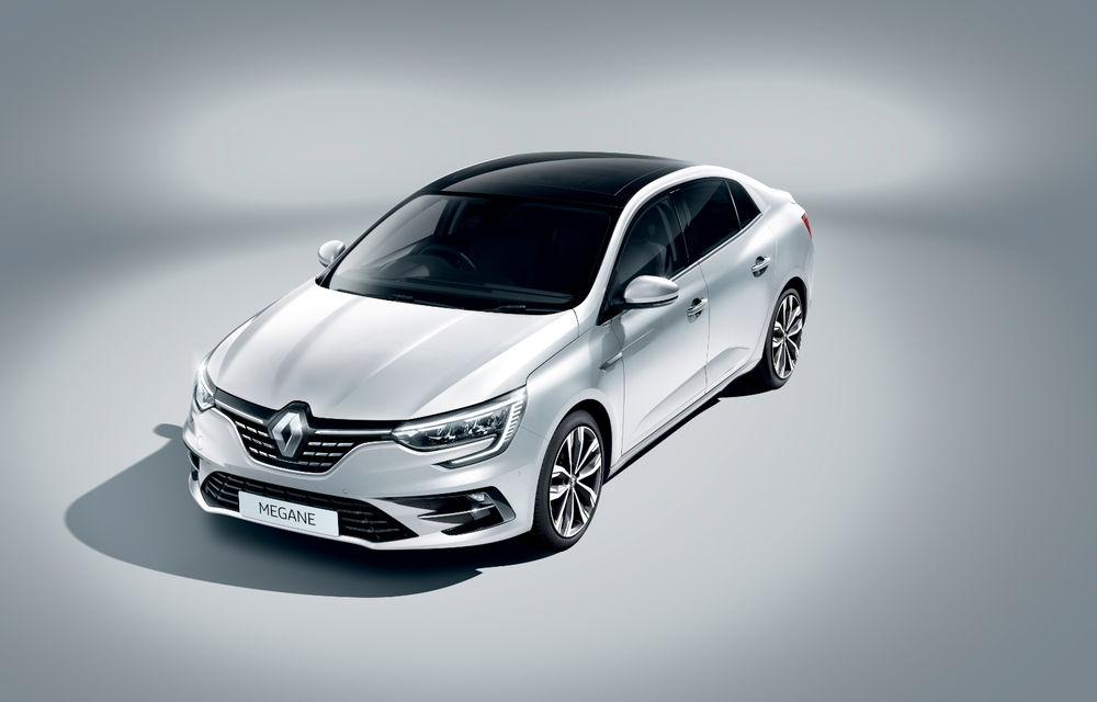 Imagini și informații tehnice cu Renault Megane Sedan facelift: interior îmbunătățit, motorizări diesel și pe benzină și sisteme de asistență - Poza 22