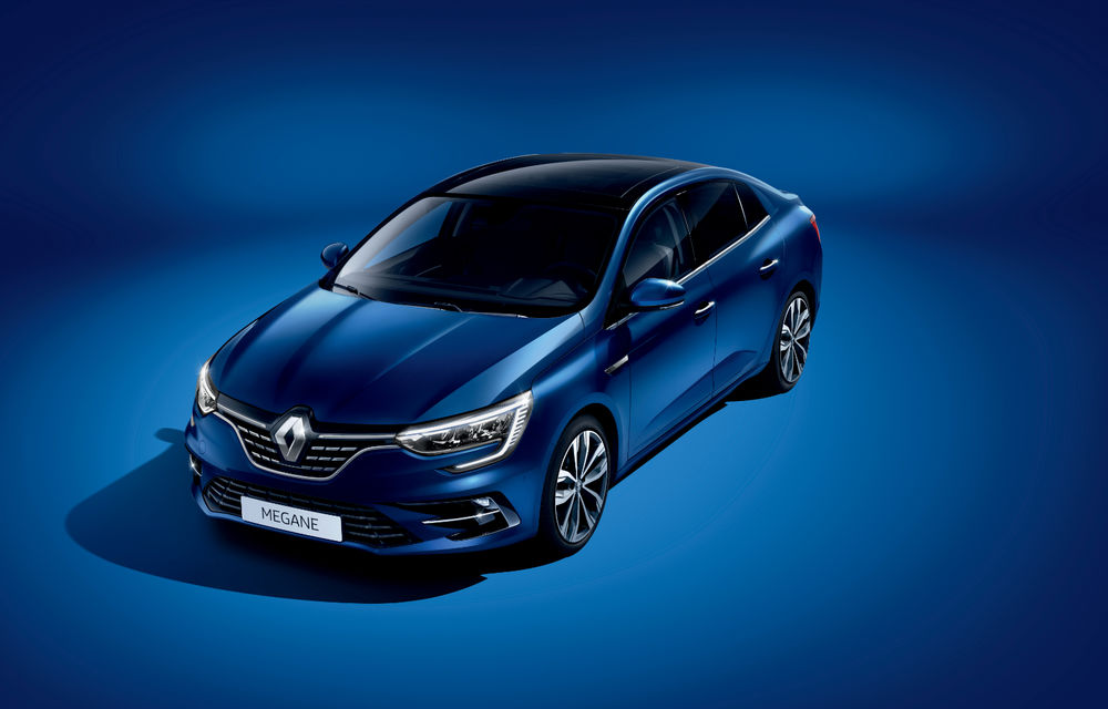 Imagini și informații tehnice cu Renault Megane Sedan facelift: interior îmbunătățit, motorizări diesel și pe benzină și sisteme de asistență - Poza 14