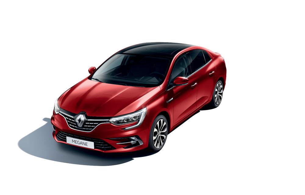 Imagini și informații tehnice cu Renault Megane Sedan facelift: interior îmbunătățit, motorizări diesel și pe benzină și sisteme de asistență - Poza 10