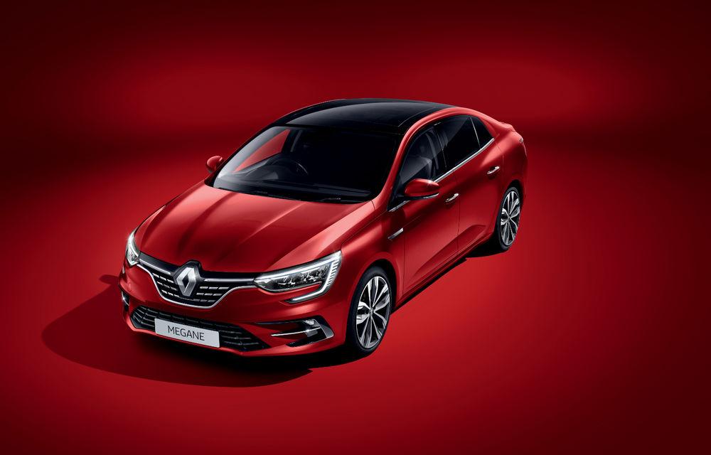 Imagini și informații tehnice cu Renault Megane Sedan facelift: interior îmbunătățit, motorizări diesel și pe benzină și sisteme de asistență - Poza 21