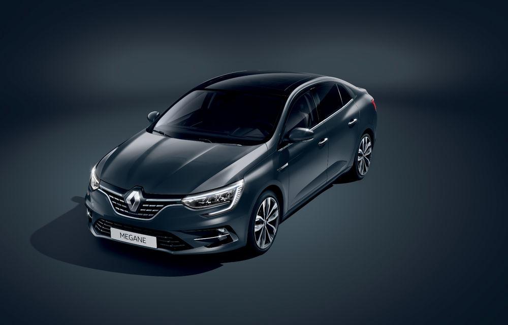 Imagini și informații tehnice cu Renault Megane Sedan facelift: interior îmbunătățit, motorizări diesel și pe benzină și sisteme de asistență - Poza 18
