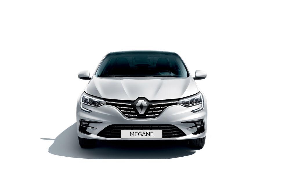 Imagini și informații tehnice cu Renault Megane Sedan facelift: interior îmbunătățit, motorizări diesel și pe benzină și sisteme de asistență - Poza 7