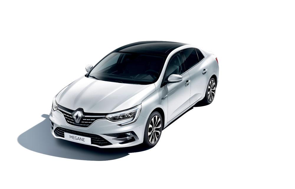 Imagini și informații tehnice cu Renault Megane Sedan facelift: interior îmbunătățit, motorizări diesel și pe benzină și sisteme de asistență - Poza 6