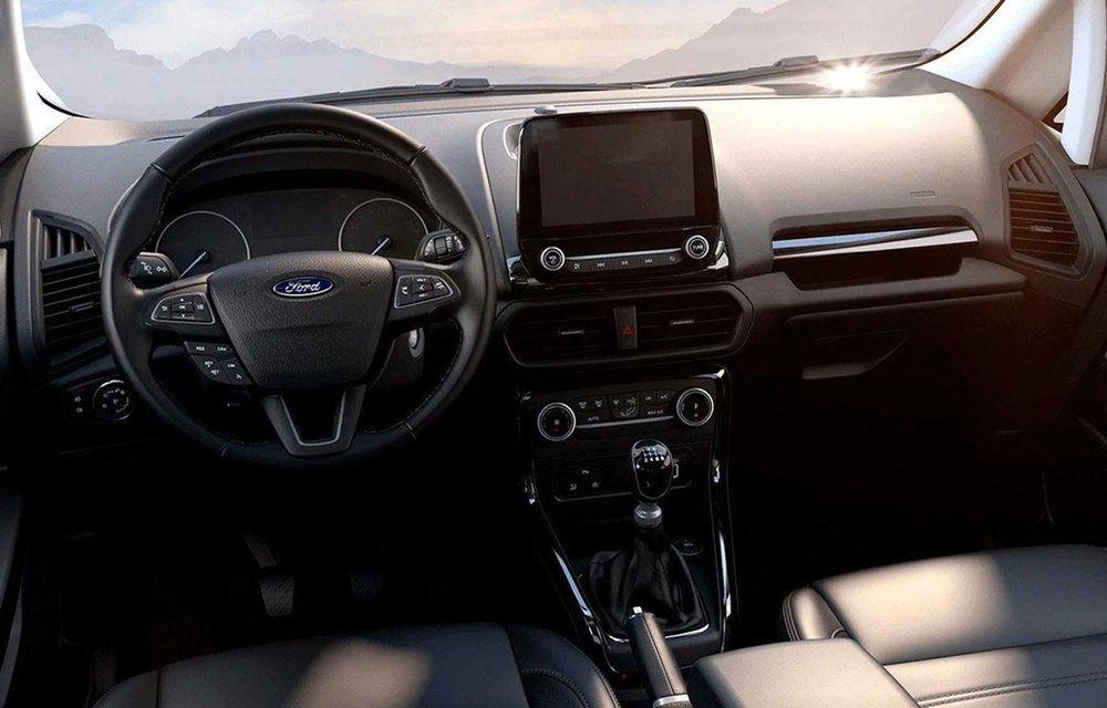 Primele imagini cu Ford Ecosport Active au apărut pe internet: prezentarea oficială va avea loc în 6 noiembrie - Poza 6