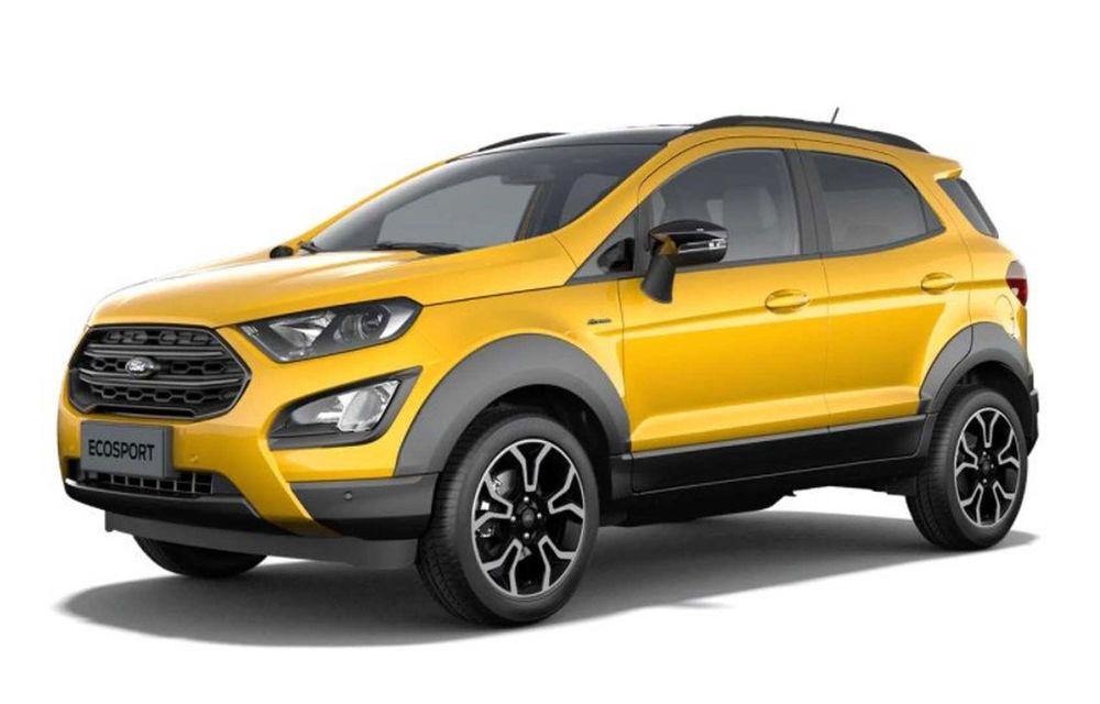 Primele imagini cu Ford Ecosport Active au apărut pe internet: prezentarea oficială va avea loc în 6 noiembrie - Poza 1