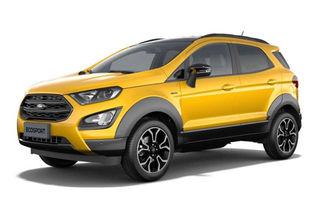 Primele imagini cu Ford Ecosport Active au apărut pe internet: prezentarea oficială va avea loc în 6 noiembrie