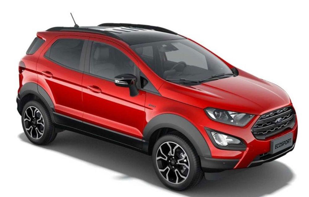 Primele imagini cu Ford Ecosport Active au apărut pe internet: prezentarea oficială va avea loc în 6 noiembrie - Poza 2