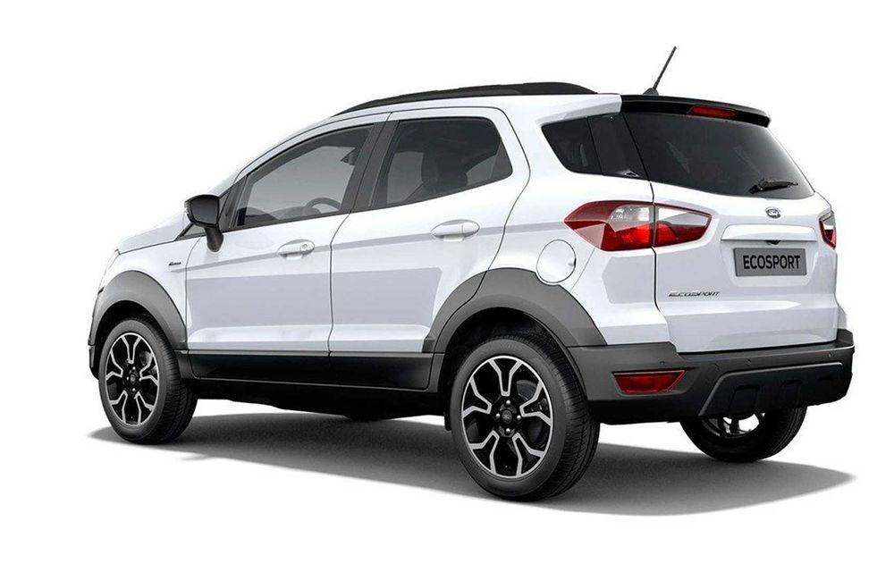 Primele imagini cu Ford Ecosport Active au apărut pe internet: prezentarea oficială va avea loc în 6 noiembrie - Poza 4