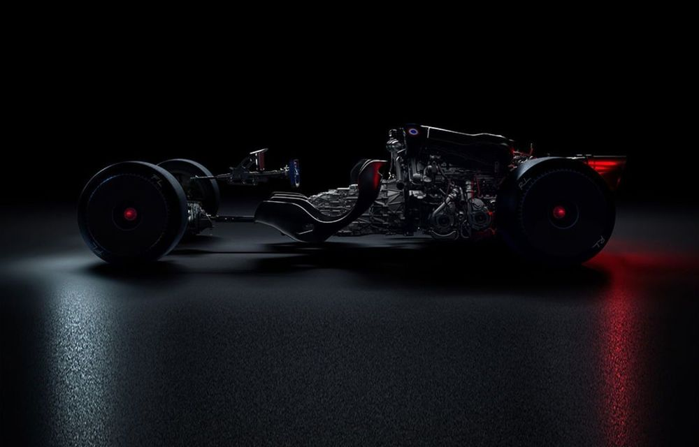 Un nou teaser din partea Bugatti: constructorul pregătește lansarea unui nou model - Poza 1