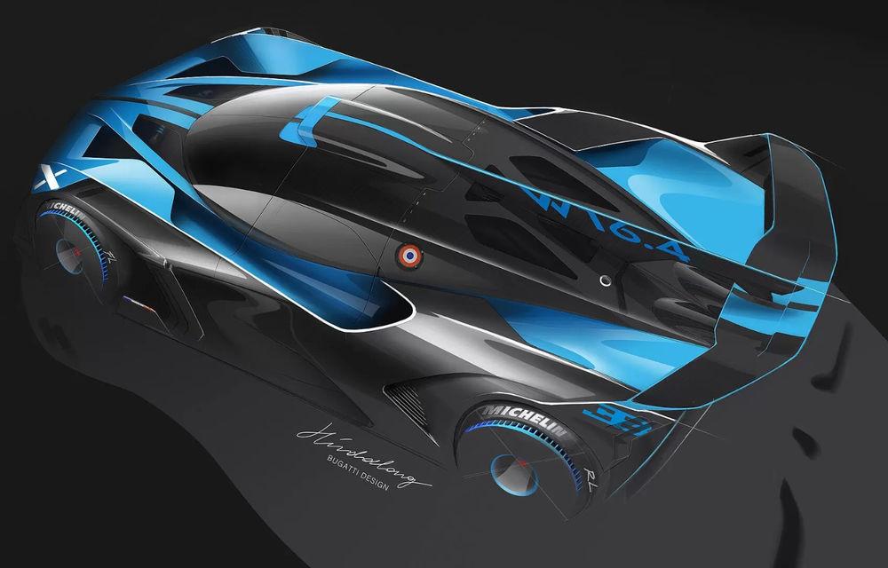 Bugatti Bolide: hypercar-ul unicat are 1850 de cai putere, doar 1240 de kilograme și ajunge la 100 km/h în 2.17 secunde - Poza 4