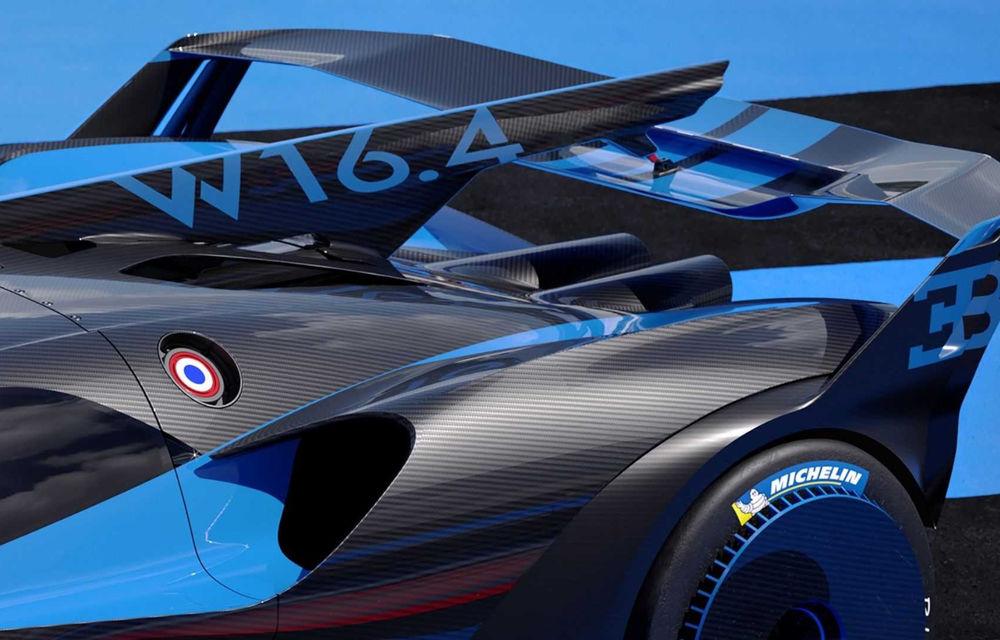 Bugatti Bolide: hypercar-ul unicat are 1850 de cai putere, doar 1240 de kilograme și ajunge la 100 km/h în 2.17 secunde - Poza 16