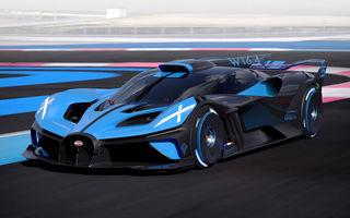 Bugatti Bolide: hypercar-ul unicat are 1850 de cai putere, doar 1240 de kilograme și ajunge la 100 km/h în 2.17 secunde