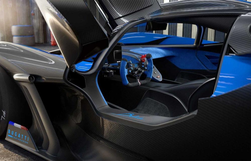 Bugatti Bolide: hypercar-ul unicat are 1850 de cai putere, doar 1240 de kilograme și ajunge la 100 km/h în 2.17 secunde - Poza 14