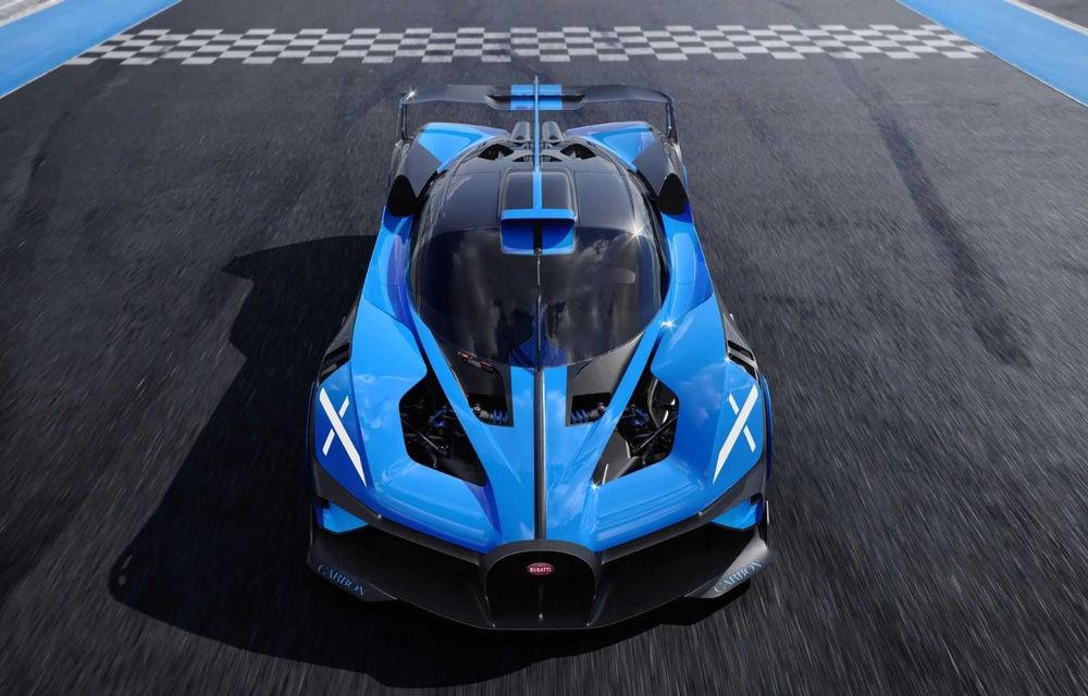 Bugatti Bolide: hypercar-ul unicat are 1850 de cai putere, doar 1240 de kilograme și ajunge la 100 km/h în 2.17 secunde - Poza 12