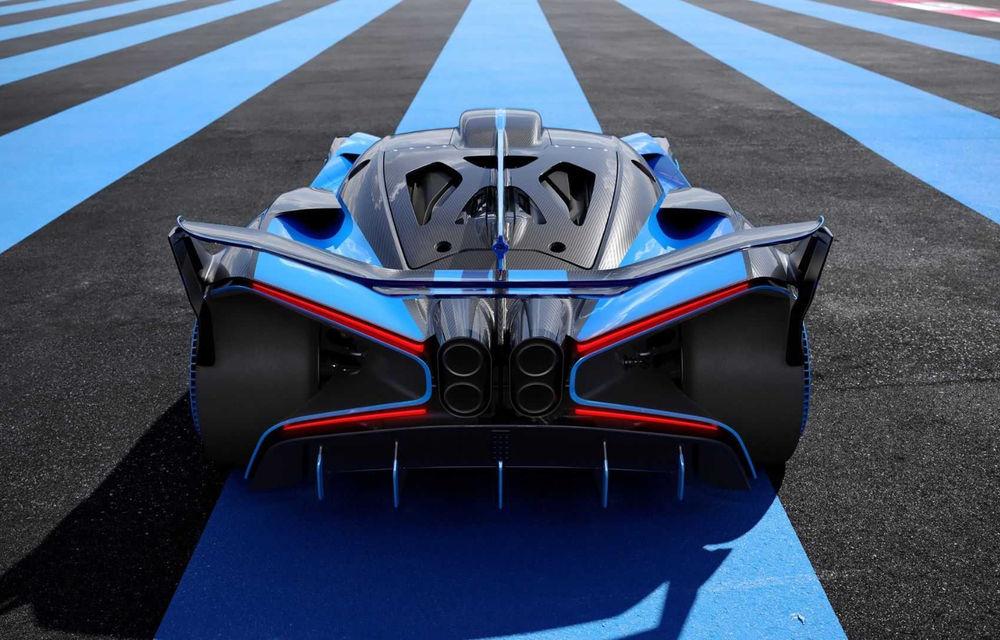 Bugatti Bolide: hypercar-ul unicat are 1850 de cai putere, doar 1240 de kilograme și ajunge la 100 km/h în 2.17 secunde - Poza 8