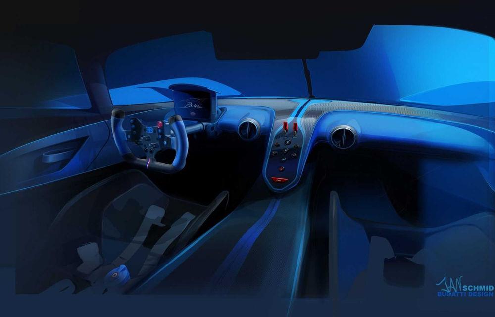Bugatti Bolide: hypercar-ul unicat are 1850 de cai putere, doar 1240 de kilograme și ajunge la 100 km/h în 2.17 secunde - Poza 7