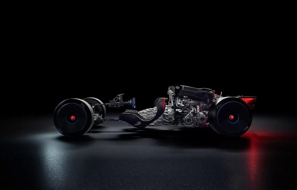 Bugatti Bolide: hypercar-ul unicat are 1850 de cai putere, doar 1240 de kilograme și ajunge la 100 km/h în 2.17 secunde - Poza 3