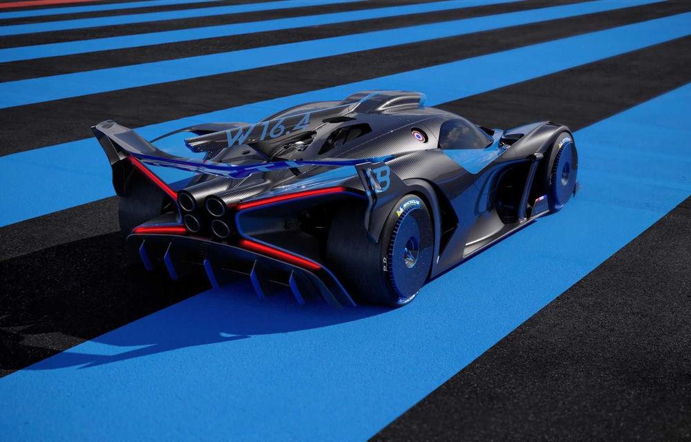 Bugatti Bolide: hypercar-ul unicat are 1850 de cai putere, doar 1240 de kilograme și ajunge la 100 km/h în 2.17 secunde - Poza 11