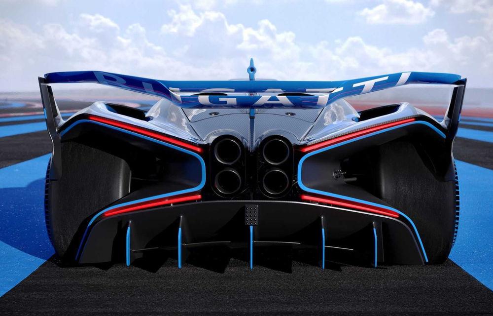 Bugatti Bolide: hypercar-ul unicat are 1850 de cai putere, doar 1240 de kilograme și ajunge la 100 km/h în 2.17 secunde - Poza 10