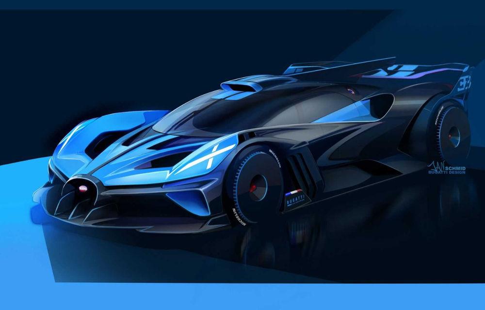 Bugatti Bolide: hypercar-ul unicat are 1850 de cai putere, doar 1240 de kilograme și ajunge la 100 km/h în 2.17 secunde - Poza 9