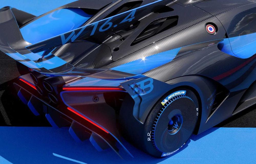 Bugatti Bolide: hypercar-ul unicat are 1850 de cai putere, doar 1240 de kilograme și ajunge la 100 km/h în 2.17 secunde - Poza 17
