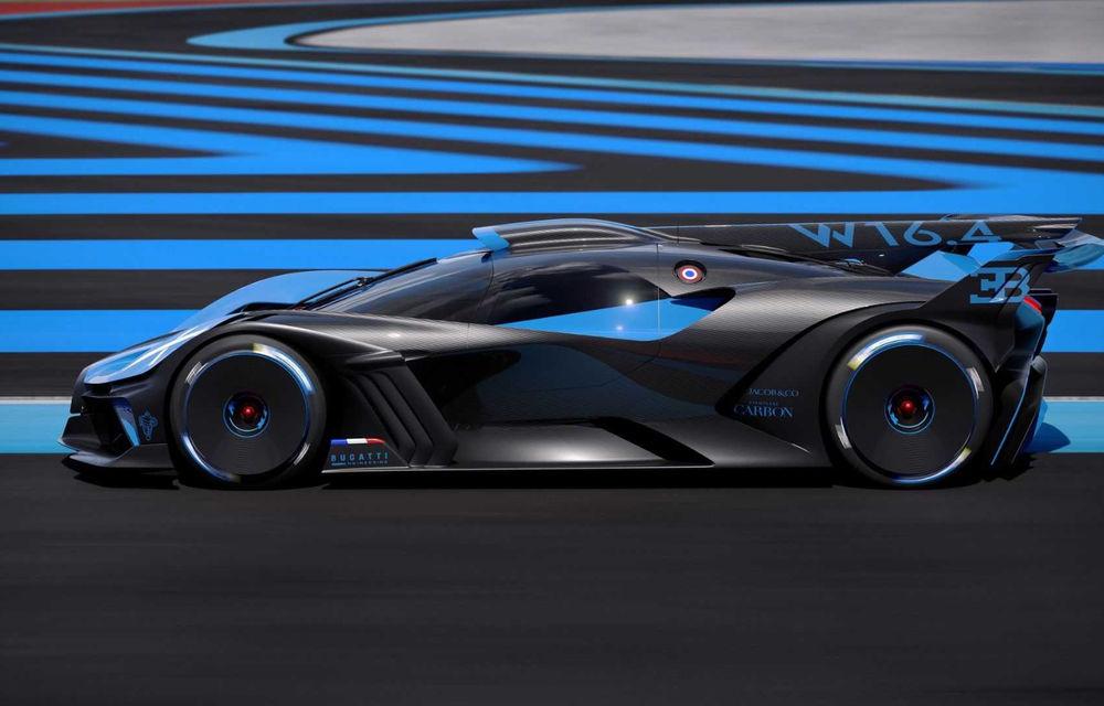 Bugatti Bolide: hypercar-ul unicat are 1850 de cai putere, doar 1240 de kilograme și ajunge la 100 km/h în 2.17 secunde - Poza 13
