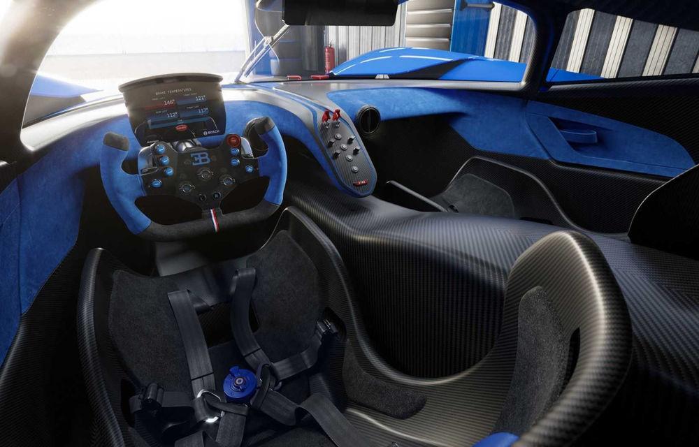 Bugatti Bolide: hypercar-ul unicat are 1850 de cai putere, doar 1240 de kilograme și ajunge la 100 km/h în 2.17 secunde - Poza 15