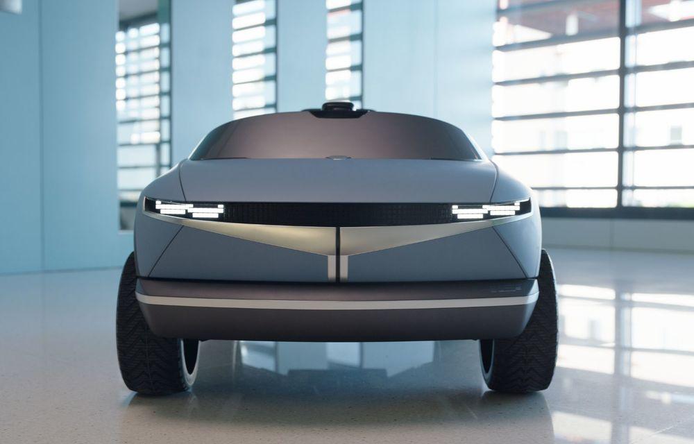 Special pentru cei mici: Hyundai pregătește un model electric de mici dimensiuni cu design inspirat de Concept 45 - Poza 4