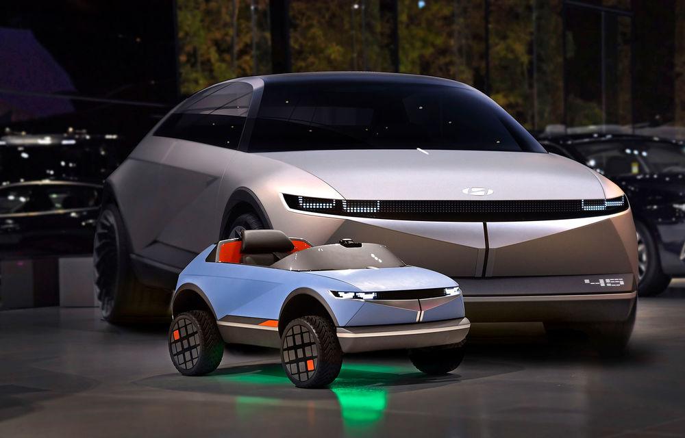 Special pentru cei mici: Hyundai pregătește un model electric de mici dimensiuni cu design inspirat de Concept 45 - Poza 2