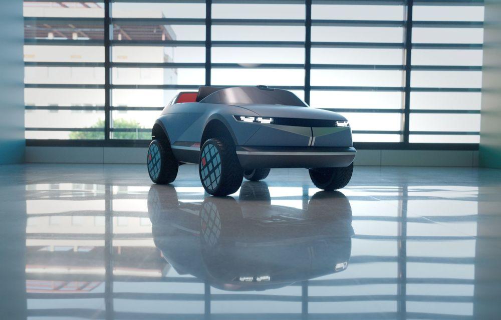 Special pentru cei mici: Hyundai pregătește un model electric de mici dimensiuni cu design inspirat de Concept 45 - Poza 5