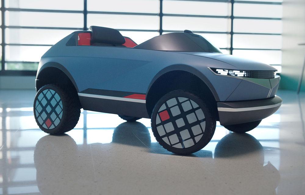 Special pentru cei mici: Hyundai pregătește un model electric de mici dimensiuni cu design inspirat de Concept 45 - Poza 1