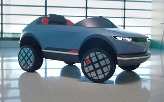 Special pentru cei mici: Hyundai pregătește un model electric de mici dimensiuni cu design inspirat de Concept 45