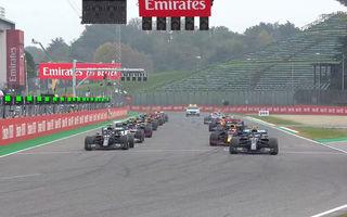 Hamilton a câștigat la Imola în fața lui Bottas după o strategie mai bună la boxe! Verstappen a abandonat, Mercedes este campioană la constructori