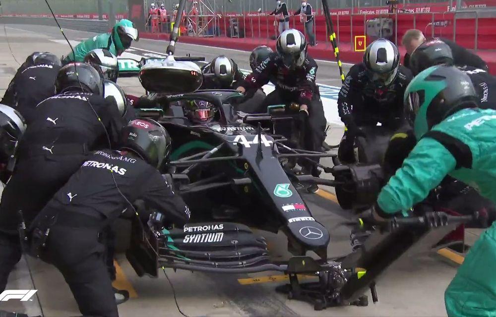 Hamilton a câștigat la Imola în fața lui Bottas după o strategie mai bună la boxe! Verstappen a abandonat, Mercedes este campioană la constructori - Poza 3