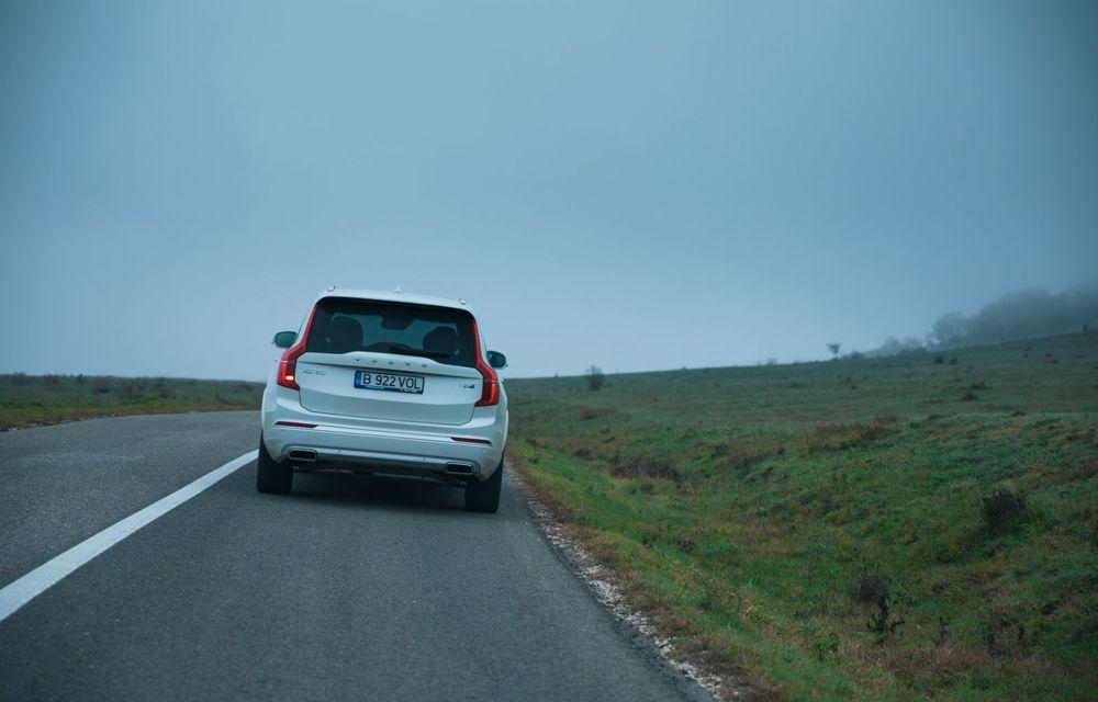 """PORTRET: Volvo XC90 T8 Plug-in hibrid după 2000 de kilometri: """"Luxul suedez este impresionant fără să devină apăsător, fără senzații de exces"""" - Poza 48"""