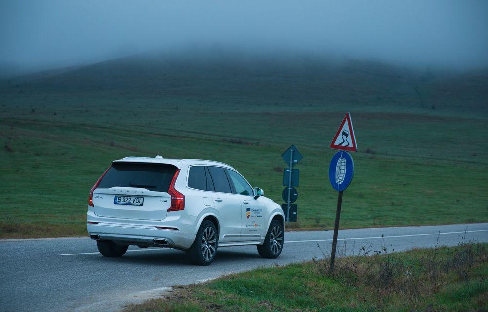 """PORTRET: Volvo XC90 T8 Plug-in hibrid după 2000 de kilometri: """"Luxul suedez este impresionant fără să devină apăsător, fără senzații de exces"""" - Poza 46"""