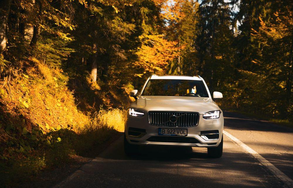 """PORTRET: Volvo XC90 T8 Plug-in hibrid după 2000 de kilometri: """"Luxul suedez este impresionant fără să devină apăsător, fără senzații de exces"""" - Poza 20"""