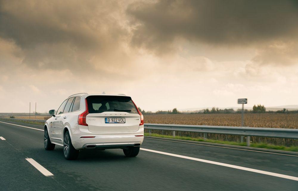 """PORTRET: Volvo XC90 T8 Plug-in hibrid după 2000 de kilometri: """"Luxul suedez este impresionant fără să devină apăsător, fără senzații de exces"""" - Poza 38"""