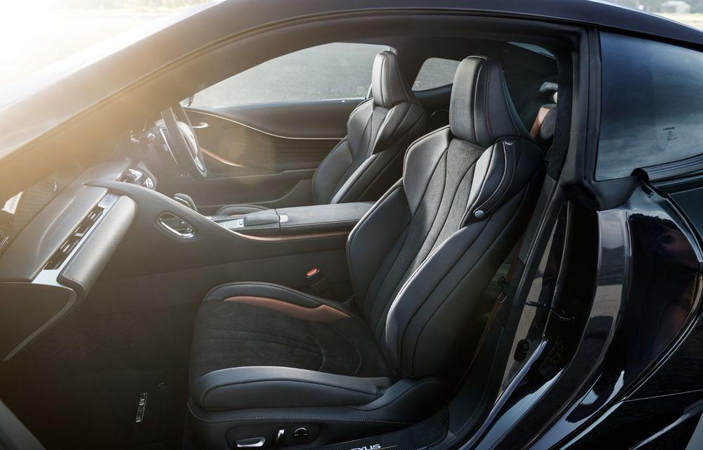 Lexus lansează ediția specială LC Coupe Aviation: 70 de unități disponibile exclusiv pentru piața din Japonia - Poza 12