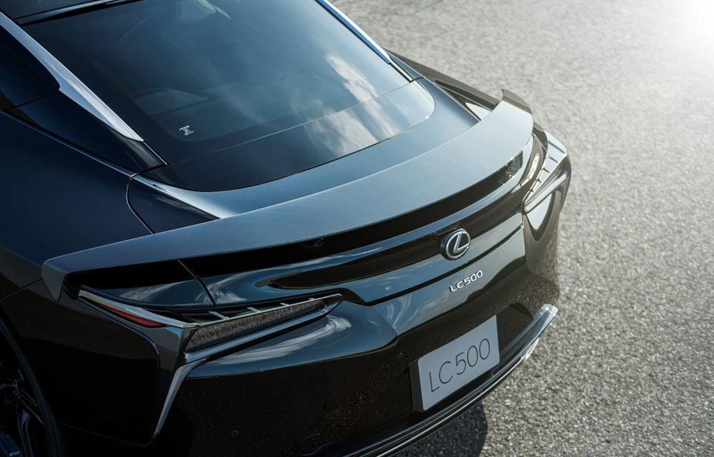Lexus lansează ediția specială LC Coupe Aviation: 70 de unități disponibile exclusiv pentru piața din Japonia - Poza 6