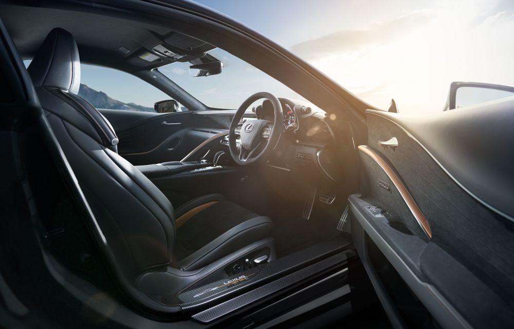 Lexus lansează ediția specială LC Coupe Aviation: 70 de unități disponibile exclusiv pentru piața din Japonia - Poza 11