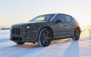 Versiunea de serie a lui BMW iNext va fi prezentată în 11 noiembrie: germanii vor dezvălui doar designul SUV-ului electric
