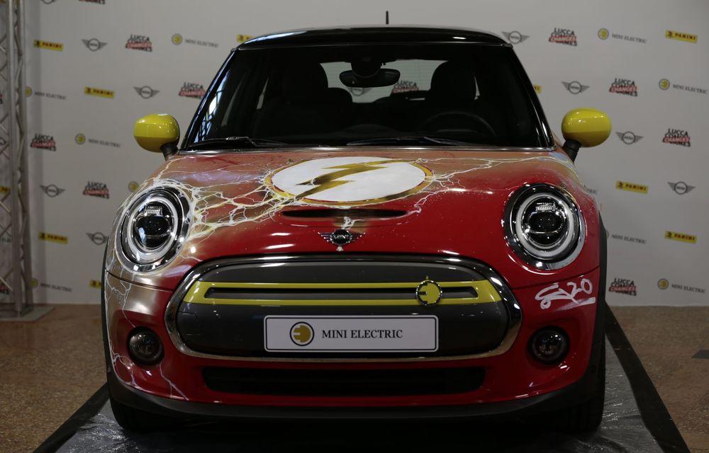 Art Car dezvoltat pe baza actualului Mini electric: modelul britanic îmbracă hainele supereroului The Flash - Poza 28