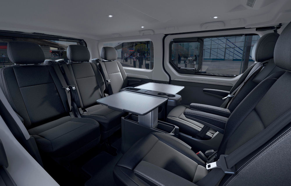 Primele imagini cu Renault Trafic facelift: noua gamă pentru transportul de pasageri primește modificări de design și motoare diesel de până la 170 CP - Poza 6