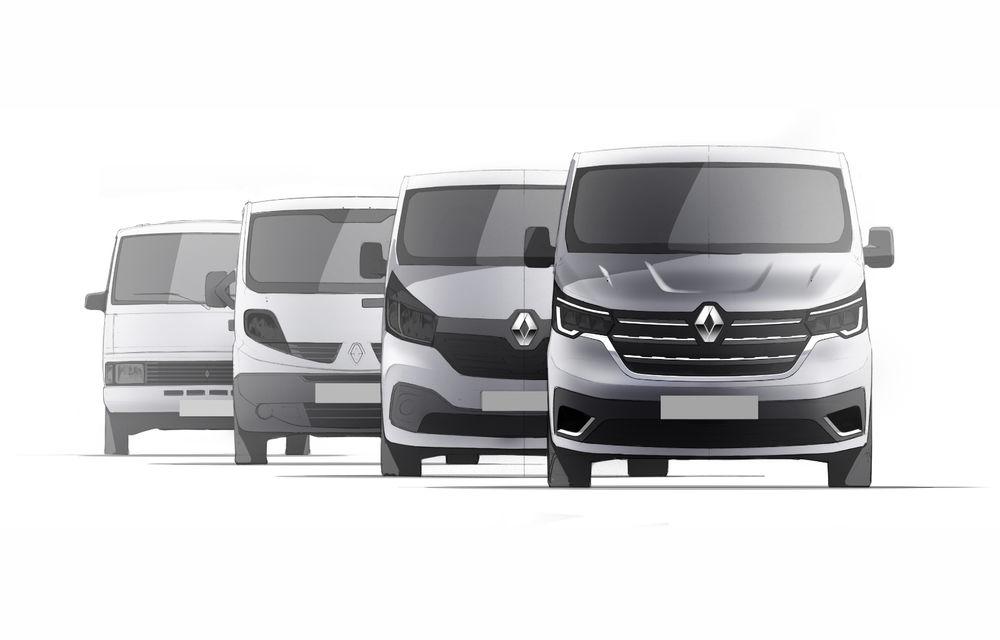 Primele imagini cu Renault Trafic facelift: noua gamă pentru transportul de pasageri primește modificări de design și motoare diesel de până la 170 CP - Poza 10