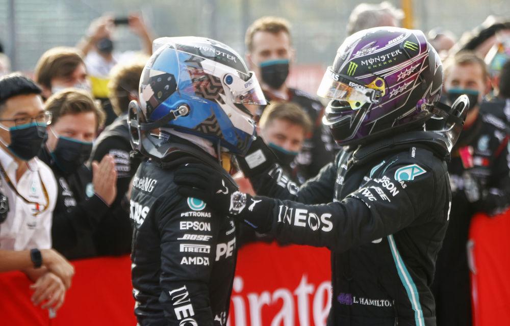 """Bottas nu s-a simțit dezavantajat în cursa de la Imola: """"Strategia la boxe a lui Hamilton a fost corectă"""" - Poza 1"""