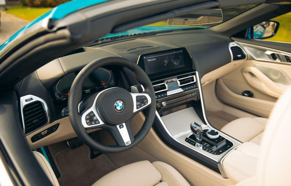 """PORTRET: BMW Seria 8 Cabriolet după 2000 de kilometri: """"Din punct de vedere tehnic, BMW M850i xDrive este o creație impresionantă"""" - Poza 37"""